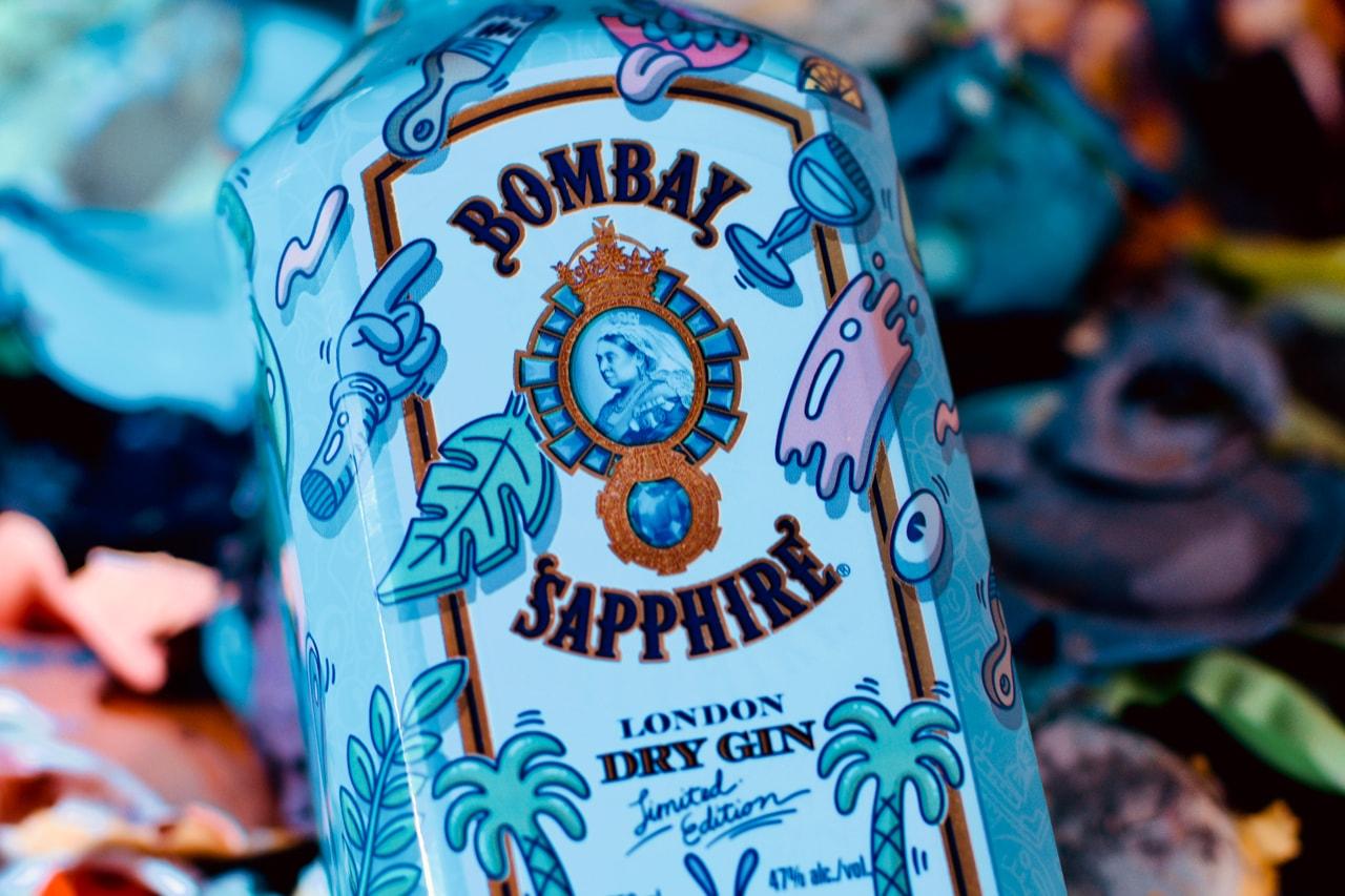 bombay artist collaboration sapphire line steven harrington interview feature inspiration behind illustrations creative process learn