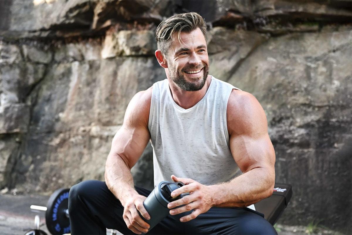 chris hemsworth marvel cinematic universe studios thor love and thunder luke zocchi fitness training centr power interview