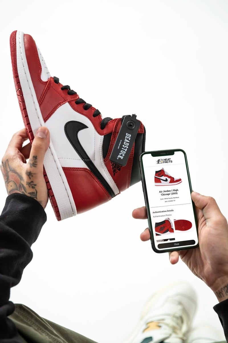 streetwear app security blockchain authenticity shopping experience