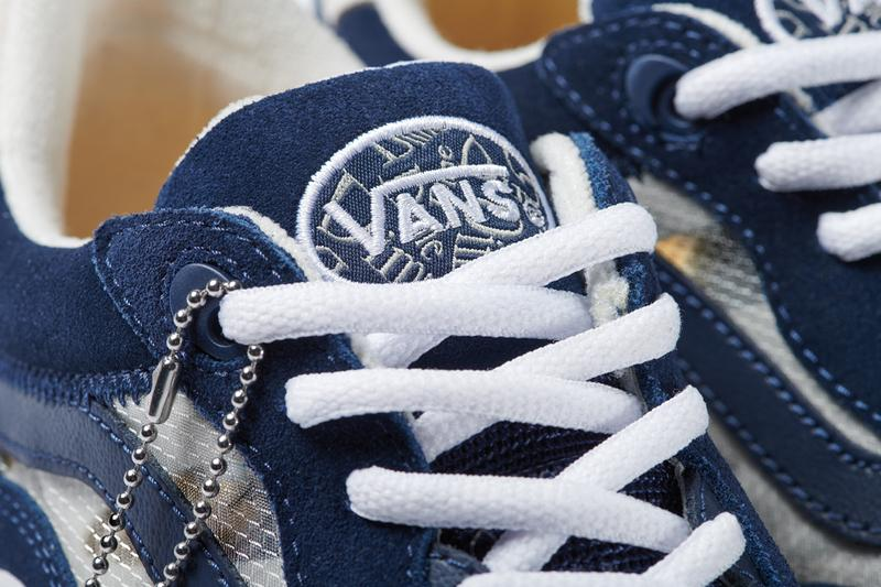 dime vans skateboarding wayvee new shoe navy blue white cream yellow official release date info photos price store list buying guide evening navy blue egret cream sail