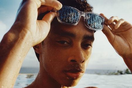 Dior's CD Link Sunglasses Make a Case for Over-Branding