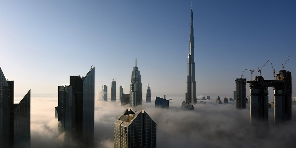 Dubai is Creating Artificial Rain With Electrically-Charged Drones