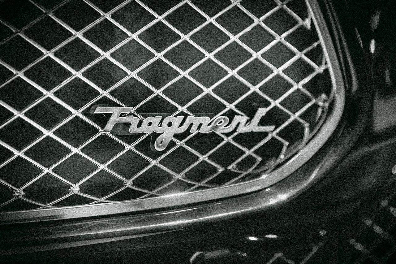 Hiroshi Fujiwara fragment design maserati automotive car luxury brand streetwear fashion accessories collab collaboration capsule