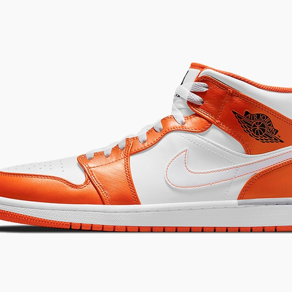 "Air Jordan 1 Mid ""Electro Orange"""