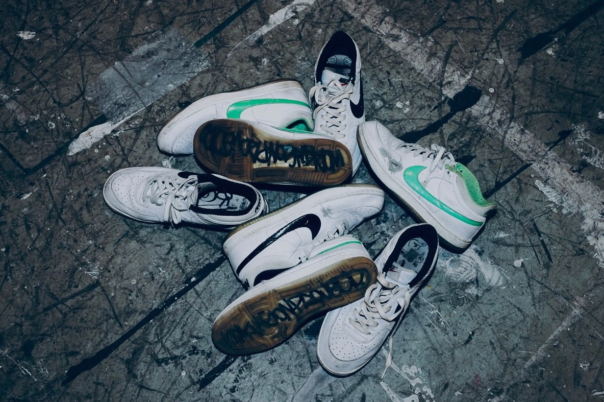 sole mates ju working on projects julian gaines nike sportswear sky force 3 4 game worn sneakers artist sole mates interview conversation