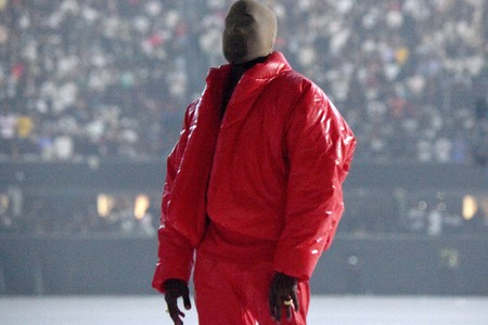 Kanye West Spotted at Atlanta United Soccer Match