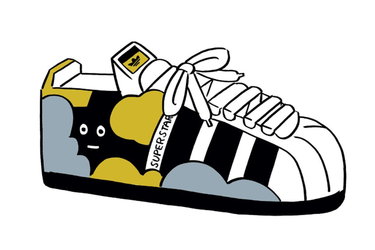 レゴグループとアディダス オリジナルス によるコラボ スーパースターが発売 adidas originals lego superstar run dmc design model sneaker footwear streetwear coffee boy japanese artist