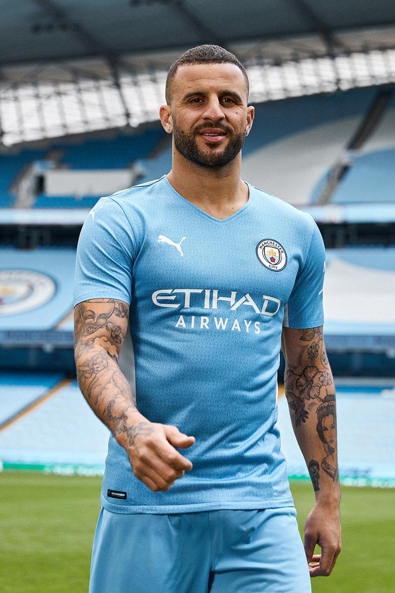 Manchester City 2021 22 93 20 Home Kit By Puma Hypebeast