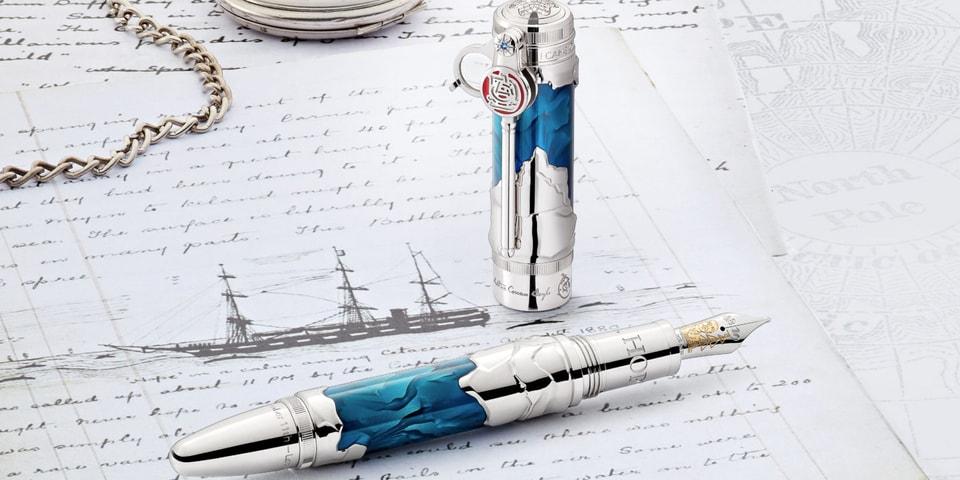 Montblanc Releases Fountain Pens Honoring 'Sherlock Holmes' Author Sir Arthur Conan Doyle