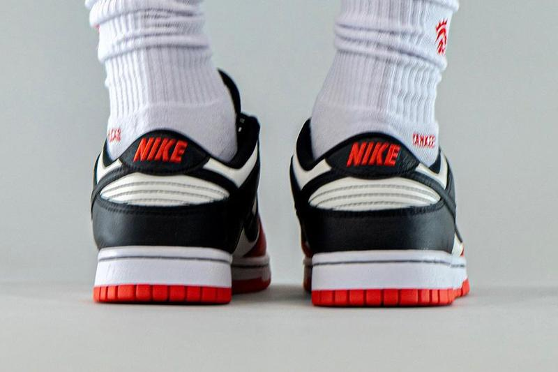 "NBA x Nike Dunk Low EMB ""Chicago Bulls"""