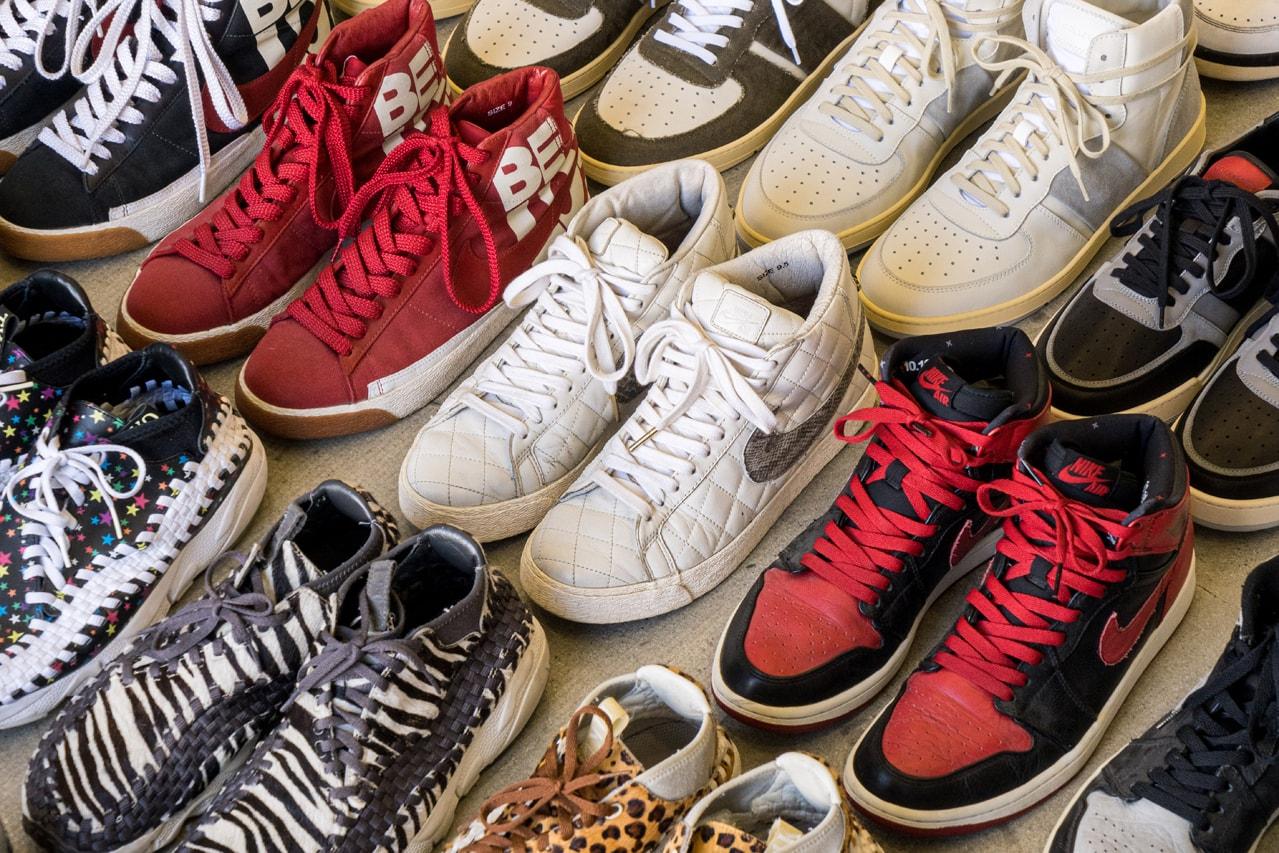 Supreme x Nike Blazer Quilted Sail 2006 Nick Sisombath Collegeium LA Emerging Footwear Brand Designer Interview Sole Mates Dunks SBs