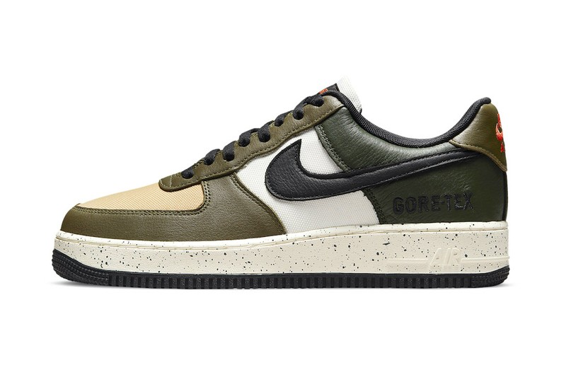 """Nike's Air Force 1 GORE-TEX Makes a Quick """"Escape"""" to the Jungle"""