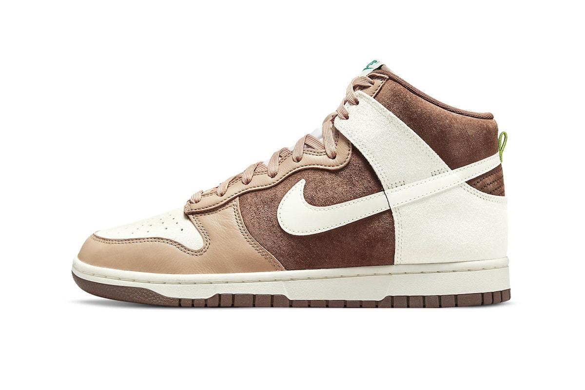 "Nike Dunk High ""Light Chocolate"""