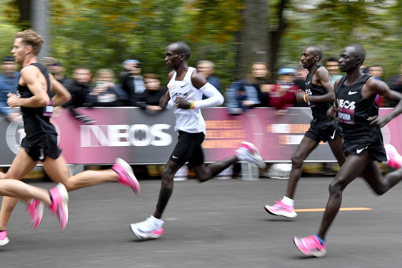 Nike Zoom Vaporfly next% super shoe John Hoke interview tokyo olympics Cheptegei Kipchoge