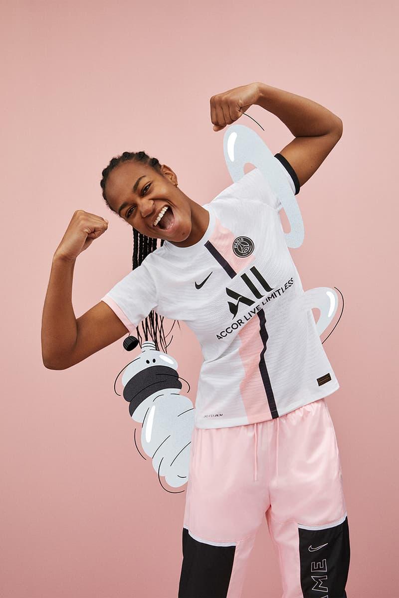Paris Saint Germain 2021 22 Away Kit By Nike Hypebeast