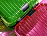 RIMOWA's Essential Suitcases Reworked in Vivid Neon