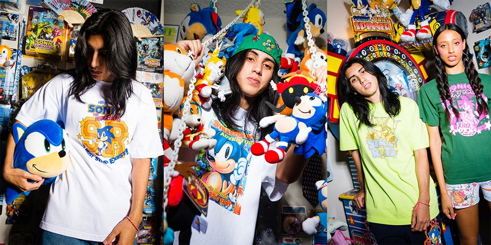 Stray Rats Unveils a Retro Gaming-Inspired 'Sonic the Hedgehog' Collection