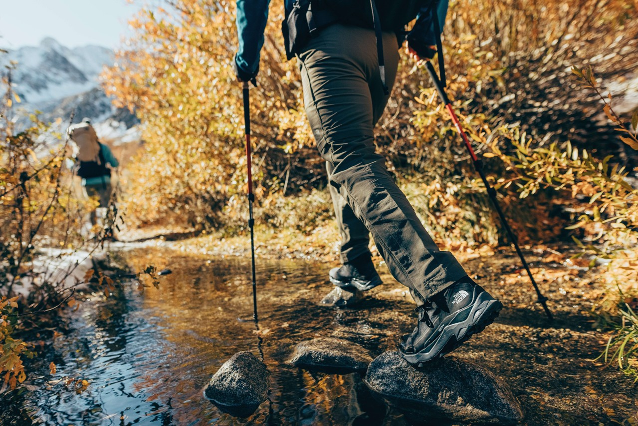 The North Face VECTIV What the Tech Interview Exclusive HYPEBEAST Explained Technology Footwear Hiking Trail Running Great Outdoors Gear Mountaineering Backpacking TNF