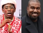 Video of Tyler, the Creator and Kanye West in Studio Surfaces