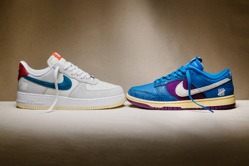 """UNDEFEATED and Nike Continue the """"Dunk vs AF-1"""" Pack With New """"5 On It"""" Offering"""