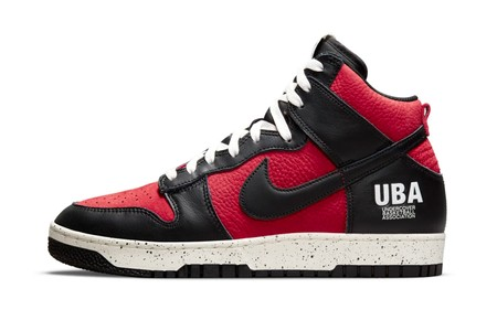 """Take an Official Look at the UNDERCOVER x Nike Dunk High 1985 """"Gym Red"""""""