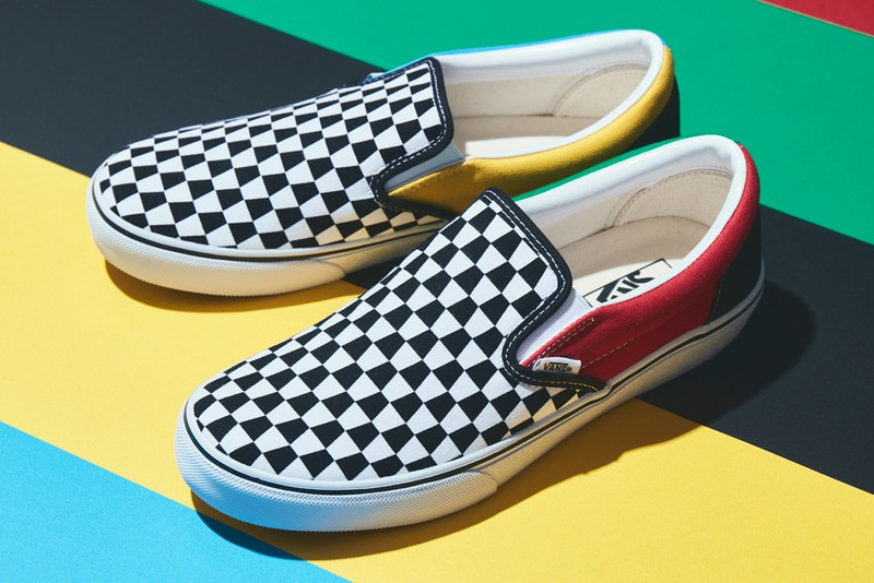 """Vans Alters its Signature Checkerboard Pattern for New Slip-On """"Trapezoid"""""""