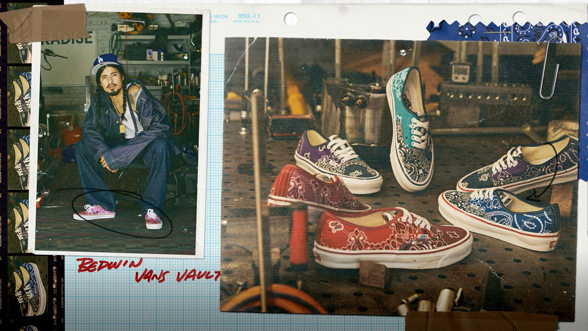 vault by vans bandana american menswear classic tradition collection heritage material