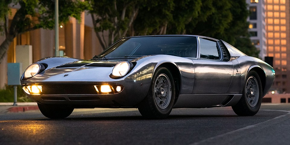 Is There Anything Prettier Than This Bare Metal 1971 Lamborghini Miura P400 S?