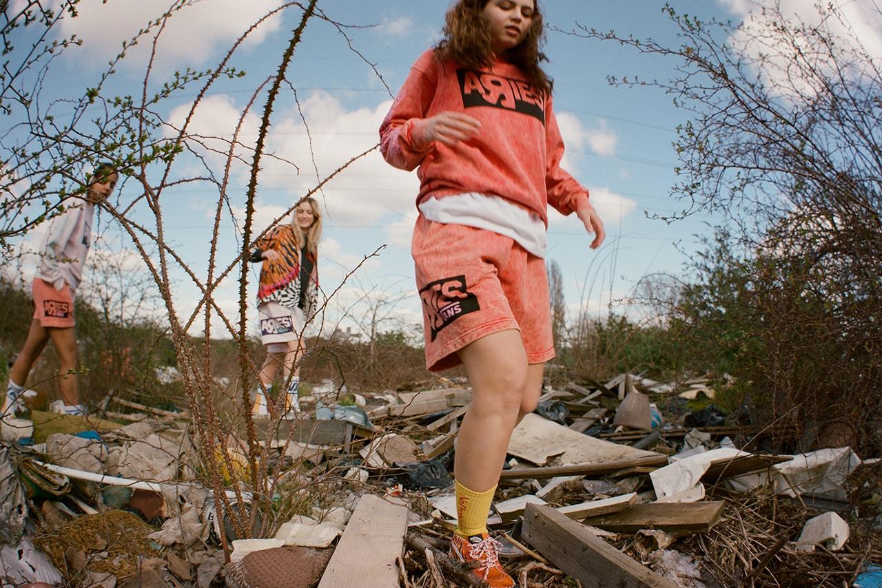 aries sofia prantera exclusive interview vans release details genderless fashion information