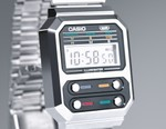 CASIO Blends Retro and Futuristic Style Influences for the A100WE