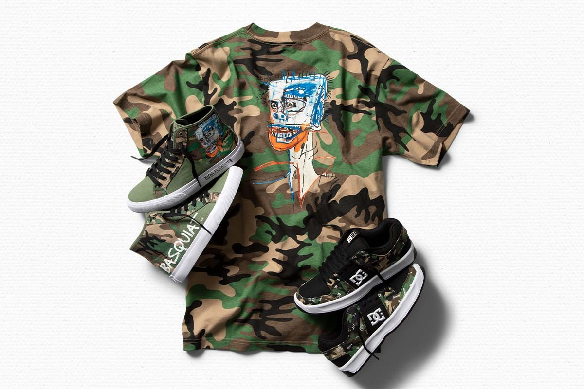 skate shoes sneakers collection new paintings art collab jahmir brown
