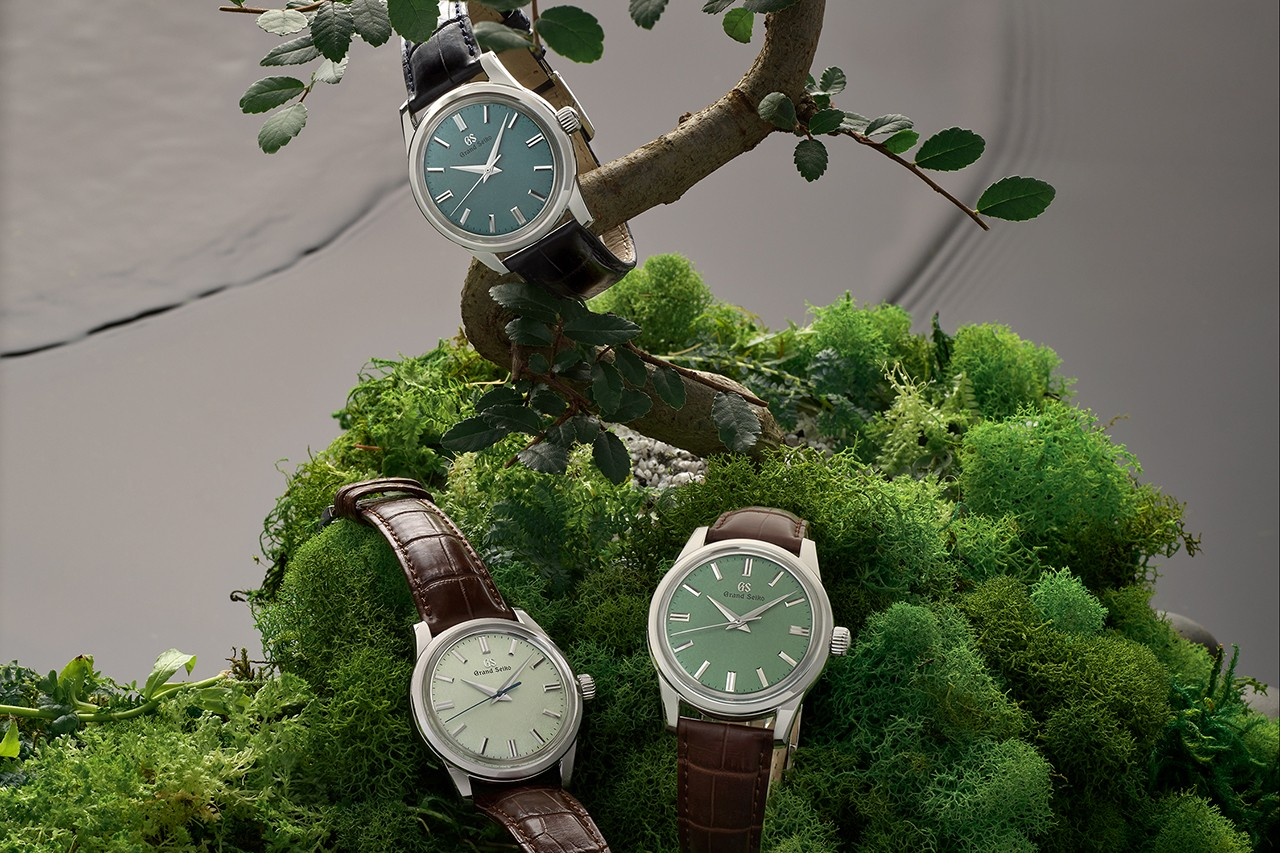 Trio of Manually Wound Grand Seiko US Exclusives Reflects the Rugged Landscape of Genbi Valley in Japan