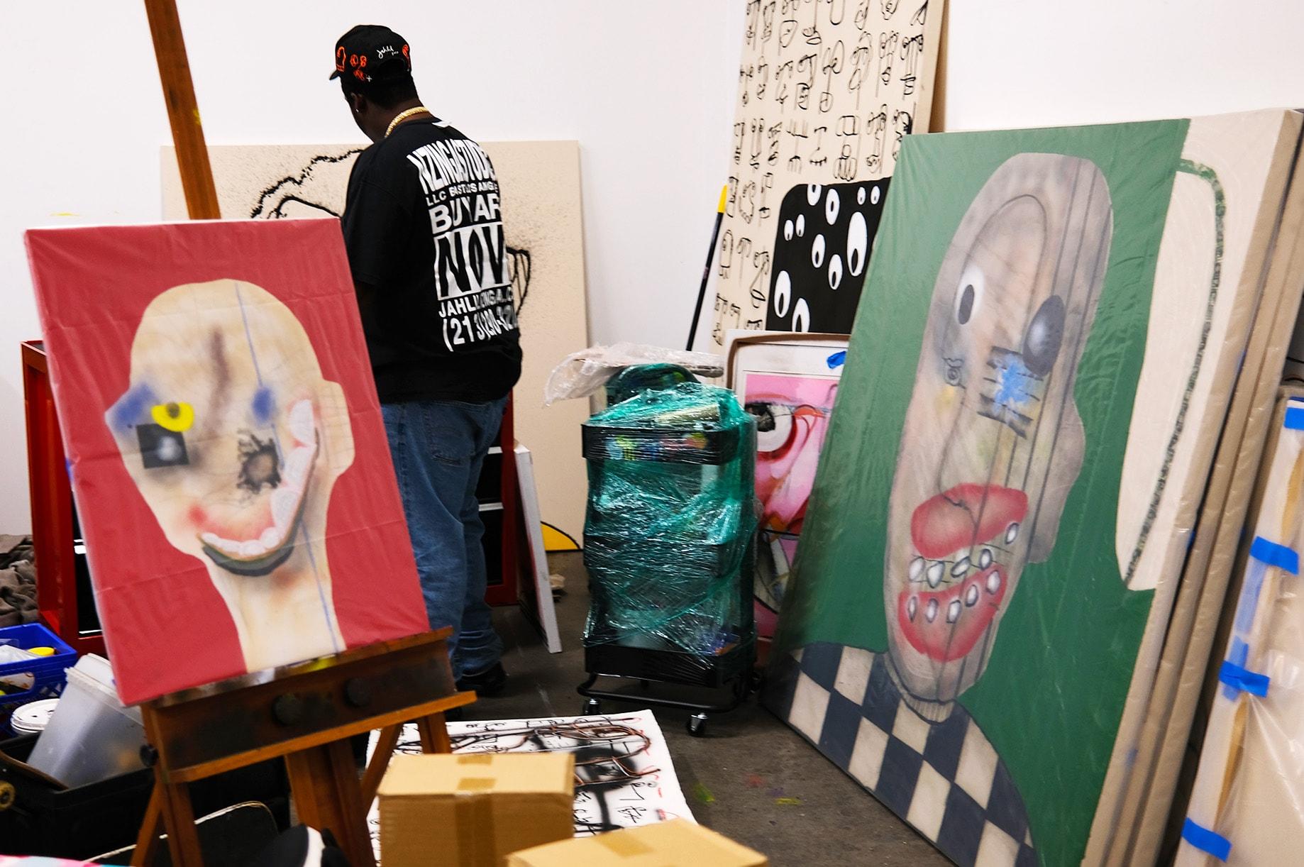 Studio Visits: Jahlil Nzinga