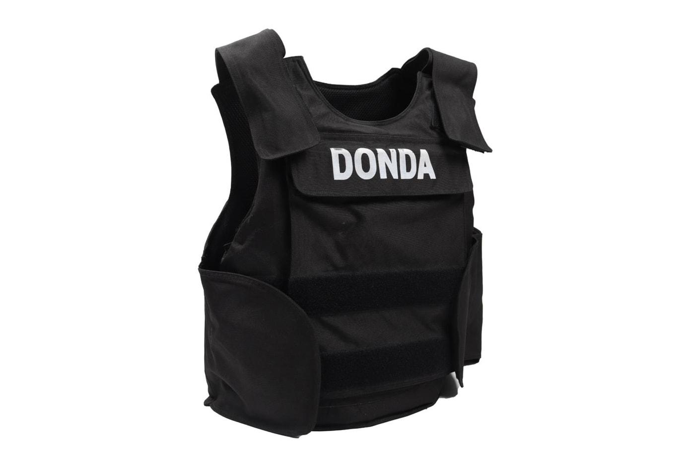 Kanye West 'DONDA' Bulletproof Vest