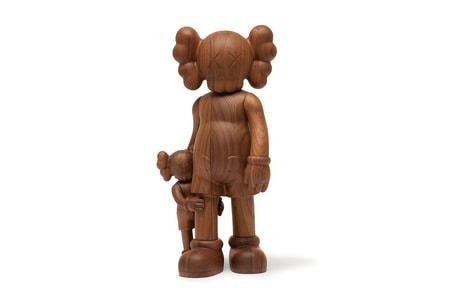 KAWS Reveals $15,200 USD 'Good Intentions' Wooden Figure