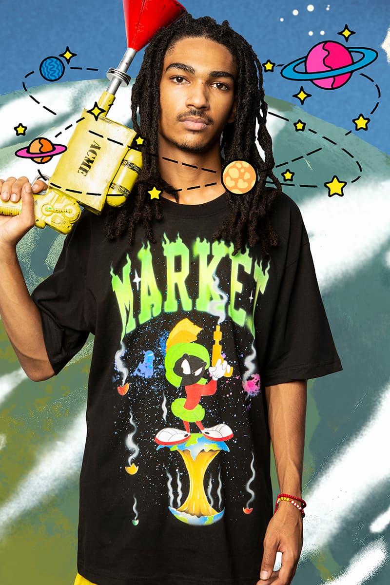 MA®️KET aprovecha los Looney-Tunes para su primera colaboración bajo el nuevo nombre camiseta gráfica retro vintage Tweety Bird Sylvester Wile E. Coyote Marvin the Martian Taz graffiti release