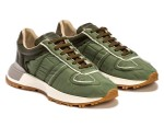 """Maison Margiela Drops Patchwork Sneaker in Fall-Ready """"Olive"""""""