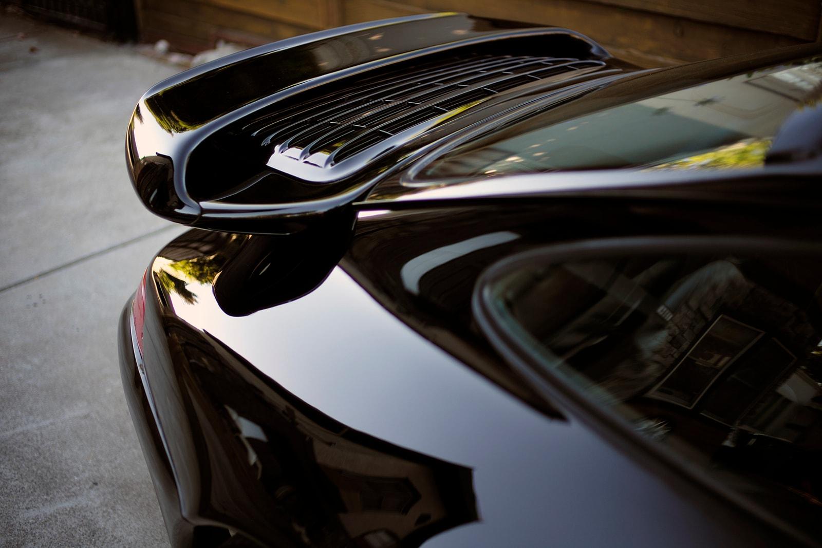 DRIVERS: Mark Arcenal's Black Porsche 911 C4S 993 Carrera HYPEBEAST CAR CLUB Vintage Air Cooled widebody
