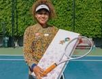 Naomi Osaka Debuts Takashi Murakami Co-Designed Tennis Racket