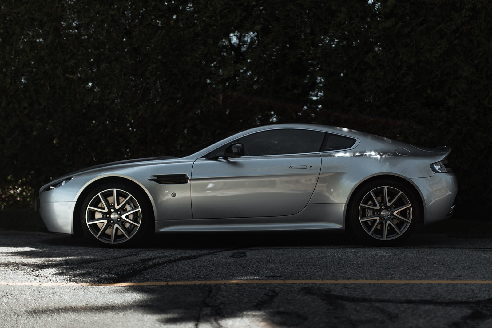 Nick Cheung of SNEAKERBOX's Aston Martin V8 Vantage S Digital Lead Daily Driver DRIVERS HYPEBEAST Car Club