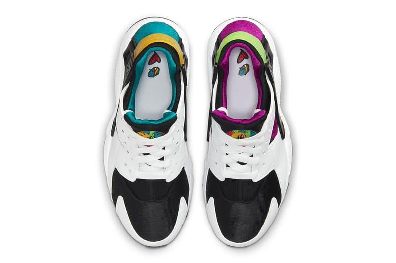 tênis nike paz amor cor bloco infantil exclusivo swoosh nike air huarache Nike air mais uptempo air force 1 liberação baixa revelar informações de queda