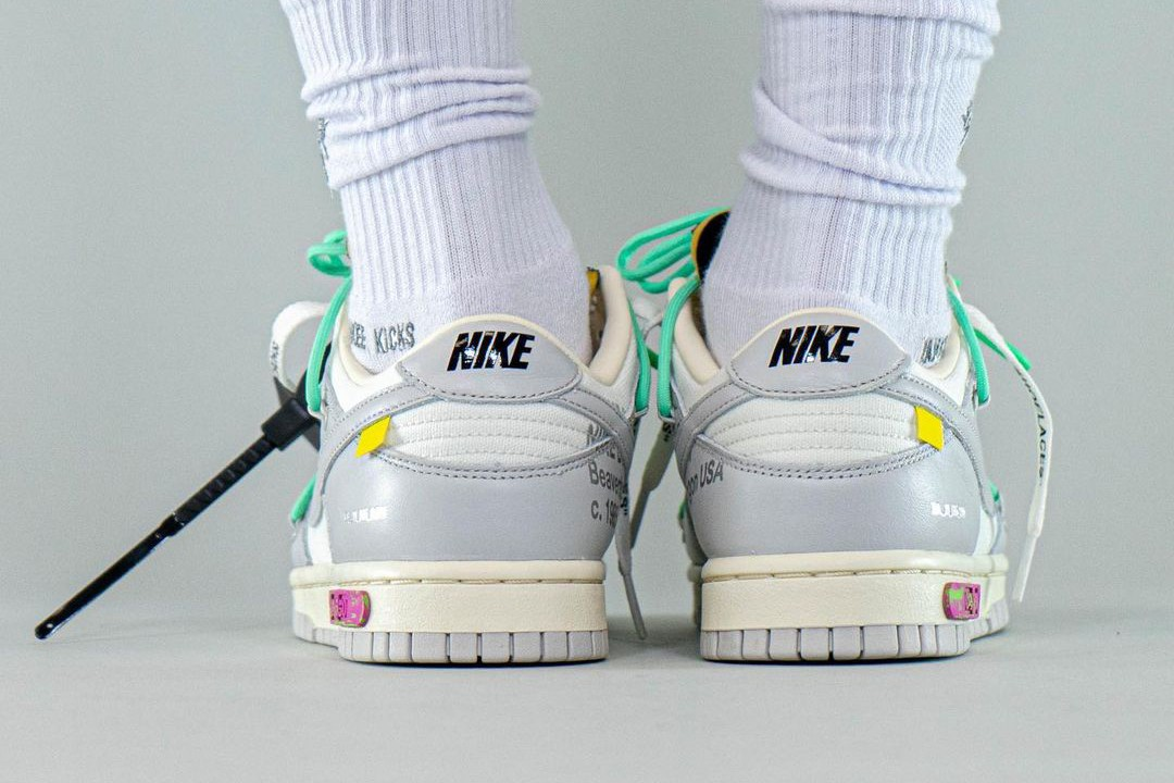 """Off-White™ X Nike Dunk Low """"04/50"""""""