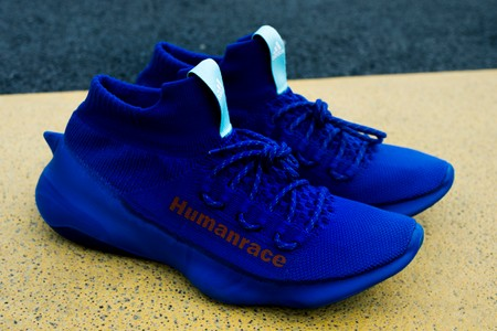 """An Exclusive First Look at Pharrell's Upcoming adidas Humanrace Sichona """"Blue"""""""