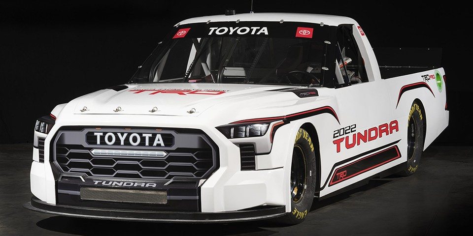 Toyota Debuts a Tundra TRD Pro for the 2022 NASCAR Camping World Truck Series