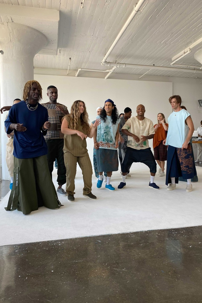 NYFW 2021 New York Fashion Week Carter Young Chelsea Grays the STOLEN GARMENT Fried Rice Collections