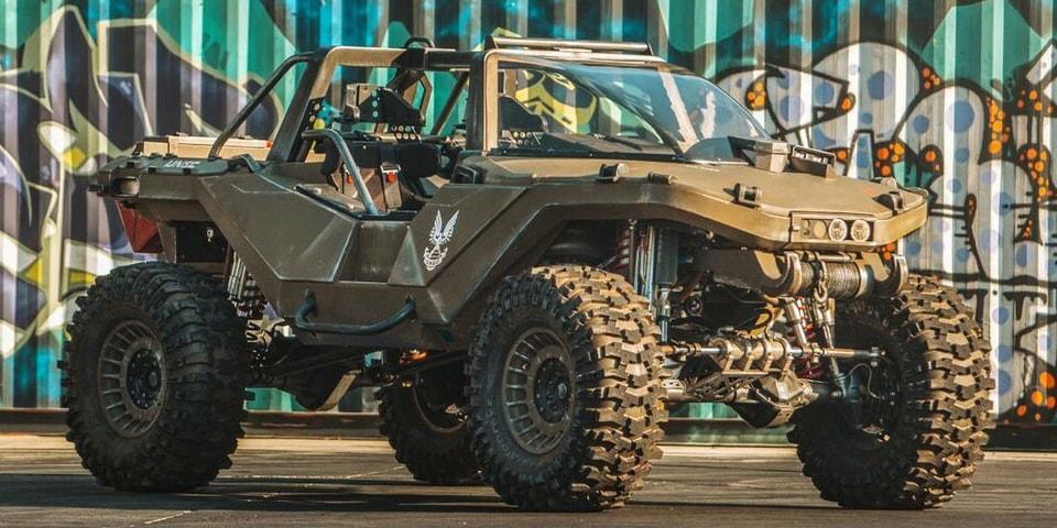 Hoonigan Builds Real-Life 1,060-Horsepower 'Halo' Warthog