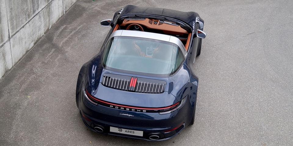 ARES Design Overhauls and Refines the Porsche 911 Targa