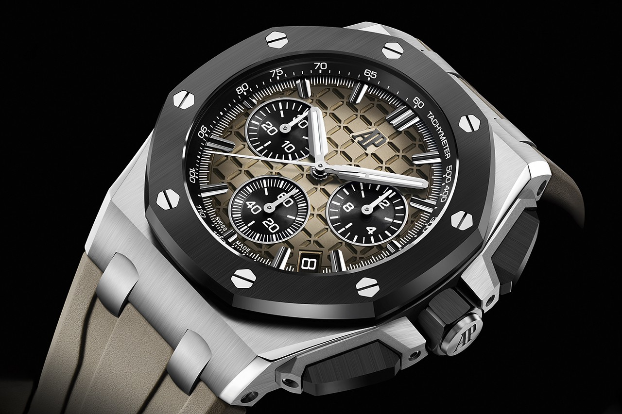 Audemars Piguet Expands Royal Oak Offshore Collection With New Cases Materials And Colors.