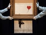 Banksy's Shredded Artwork Will Hit Auction Yet Again