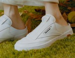 BEAMS and Reebok Officially Unveil Its Club C Laceless Mule Collaboration